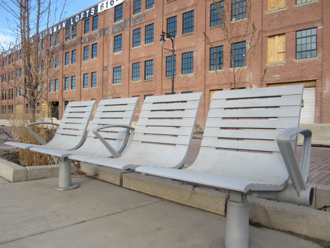 Benches at Downtown Market
