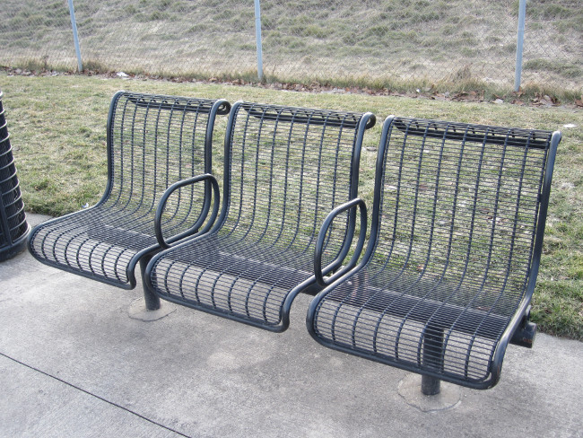 Benches in Heartside Park