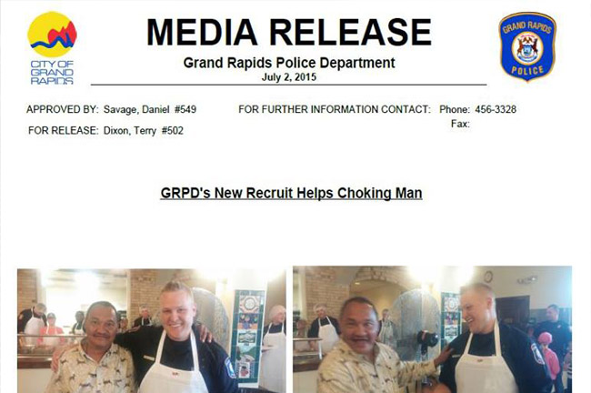 GRPD News Release