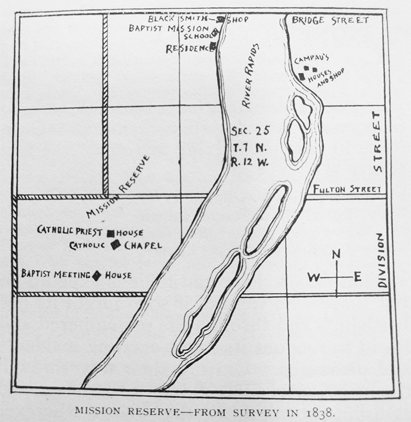 map of grand rapids mission reserve